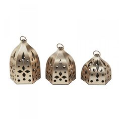 The Festive Lanterns Consider these gilded lanters the finishing touch your backyard has been missing. LED Lanterns, IKEA $5