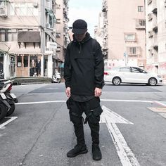 Smirk® (@smir.k) on Instagram Dope Fashion, Korean Fashion, Japanese Fashion, Mens Fashion, Fashion Outfits, Luxury Fashion, Fashion Shoes, Cool Outfits, Monochrome Fashion