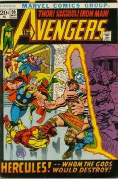 Avengers 99 - Marvel Comics Group - Thor - Iron Man - Captain America - Hercules - John Buscema