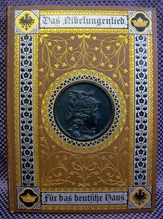 Song of The Nibelungs Das Nibelungenlied 1885 German Bindings Illustrated RARE | eBay