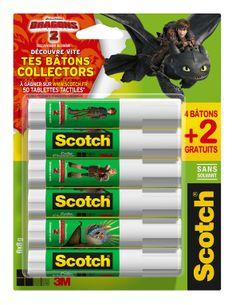 Des bâtons de colle très collectors aux couleurs du film « Dragons 2 » !