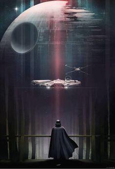 Tu pared merece estos carteles de la trilogía original de Star Wars