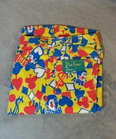 Very Rare Pattern 60's Lilly Pulitzer Men's Stuff Palm Beach Casino Flare Pants