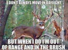 Deer hunting. Truth!