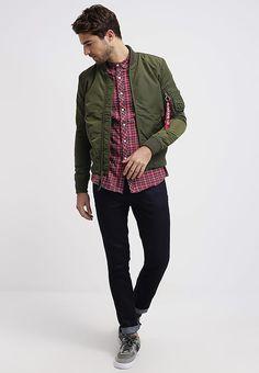 Elegant Mens fashion online alpha industries bomber jacket - dark green
