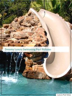 Amazing Luxury Swimming Pool Pictures that will inspire you - Pool Landscaping Ideas<< Swimming Pool Pictures, Swimming Pool Designs, Luxury Swimming Pools, Luxury Pools, Pool At Night, Cool Pools, Pool Landscaping, Building A House, Backyard