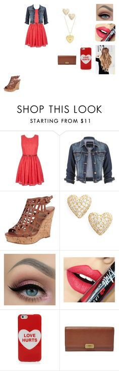 """""""Untitled #391"""" by nala1220 on Polyvore featuring Yumi, maurices, Charles by Charles David, IBB, Nadri, Fiebiger, Marc Jacobs, FOSSIL, women's clothing and women"""