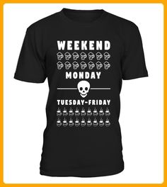 Weekend and Monday - Spaß shirts (*Partner-Link)