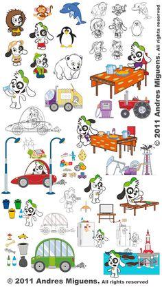 stickers de doki awesome!!!