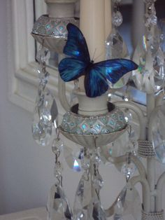 10 Beautiful 3D Exotic Sparkling Wedding Butterflies Flower- Table Decorations Any Colour on Etsy, $21.00