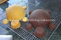 Turtle Cakes for kaydes next bday