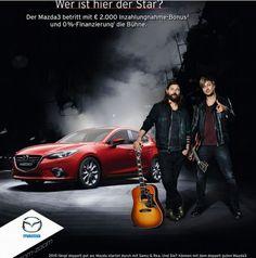 Samu und Rea Mazda-Probefahrt Sunrise Avenue, Mazda, Star Wars, The Voice, Germany, Movies, Movie Posters, Hot, Films