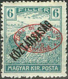 Hungary Romanian Occupation Debrecen 1919, Harvesters Mi.# 47, MH [ref.b