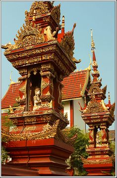 Chiang Mai, #Thailand  I went to see this temple when I was there and it was beautiful.  ajw