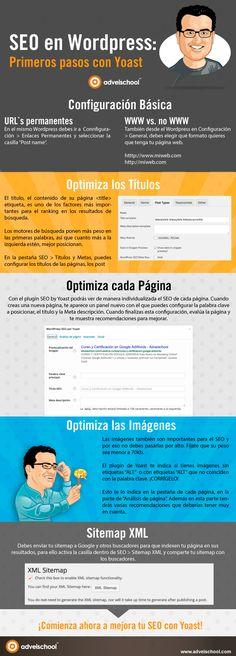 SEO en WordPress: Primeros pasos con Yoast www.rubendelaosa.com #seo #google #marketing