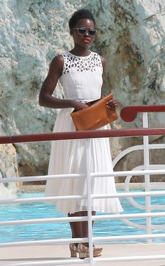 Lupita Nyong'o from Stars at the 2015 Cannes Film Festival #cannes15 #cannes #cannesfilmfestival15