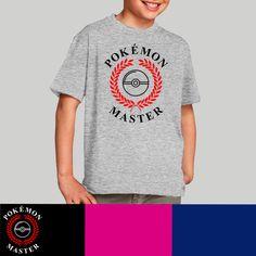Camiseta niño Pokémon master