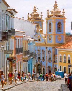 Pelourinho Salvador, Bahia, Brazil