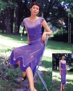Crochet outfit - top and skirt...NO PATTERN...crochet inspiration ONLY...