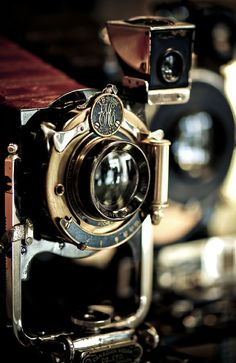 Portrait of Vintage Camera
