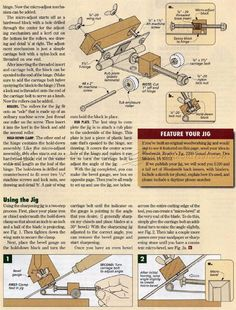 #1550 Chisel and Plane Iron Sharpening Jig - Sharpening Tips, Jigs and Techniques