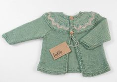 Style: Eleven Wardrobe Picks For Rad Kids  (CUTE! vintage inspired knit by fablebaby on Etsy)