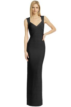 Taking Herve Leger's bodycon to another level. The best way to rock #BackinBlack http://www.renttherunway.com/spring2013lookbook-6 #SpringAwakening