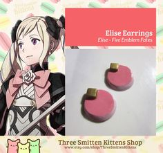 Fire Emblem Fates Elise Bows by ThreeSmittenKittens on Etsy