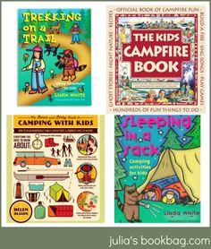 Julia's Bookbag: The Julia's Bookbag BIG BIG Guide to Camp Books!