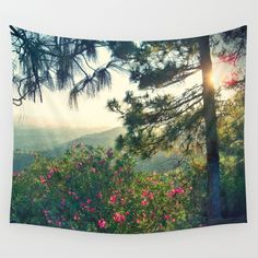 Buy Mountain View by Yoshigirl as a high quality Wall Tapestry. Worldwide shipping available at Society6.com. Just one of millions of products available.