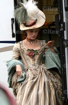 Keira Knightley costume in 'The Duchess', 2008. Designed by Michael O'Connor.