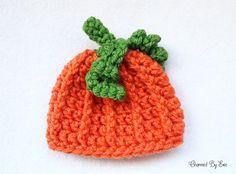 Free Crochet Pattern: Preemie Pumpkin Hat