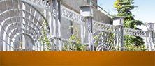 Les belles clotures vont ameliorer chaque maison. J'aime voir souvent les grands portails avec les tour en haut! C'est trèèès jolie!!