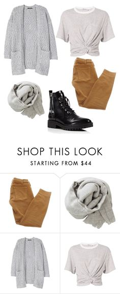 """""""School's in session"""" by kkmahony ❤ liked on Polyvore featuring Current/Elliott, Brunello Cucinelli, MANGO, T By Alexander Wang and Kendall + Kylie"""