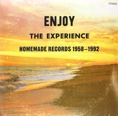 Enjoy The Experience: Homemade Records Various Artists Vinyl Enjoy The Experience: Homemade Records is the inaugural offering from Popular Music, Various Artists, Lp Vinyl, Lps, Booklet, Album Covers, Cool Things To Buy, It Cast, Singer
