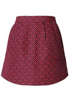 Floral Stitch Bud Skirt