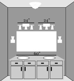 Picture Gallery Website Design Center For lighting a bathroom the fixture most monly used is a single