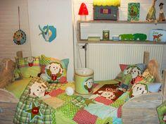 Dog quilt. Kids room.