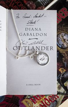 My necklace from @crowbiz  is a perfect addition to my Outlander collection! Love it.