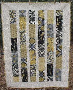 MaDe To OrDeR -- Aviary 2  Lap or Baby Quilt-- pattern also available. $152.00, via Etsy.