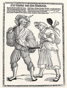 Der Sudler und sein Sudlerin (um 1535)