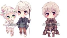 Chibi commissions 13 by LaDollBlanche on DeviantArt