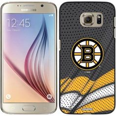 Boston Bruins Home Jersey Design on Samsung Galaxy S6 Snap-on Case