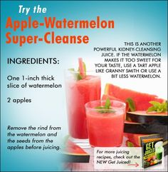 Yet another powerful kidney-cleansing juice! If you want more juicing recipes just like this one, click the image and then follow the link on the next page.