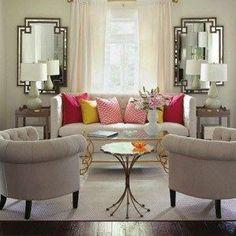 7 reglas de oro para la decoración de salas pequeñas