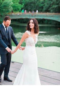 Pronovias Vincenta U0026 Verona Cape #weddingdress #realbrides