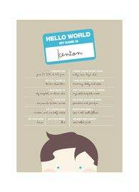 This Customizable Poster Provides A Clever And Modern Way To Showcase Your Baby's Birth Stats. Modern, Yellow Children Custom Art From Minted By Independent Artist Kristie Kern Called Hello World With Printing On In Chocolate Chip NCA. Cute Baby Announcements, Custom Art, Nursery Wall Art, Paper Goods, Baby Love, Cute Babies, Design Inspiration, Art Prints, World