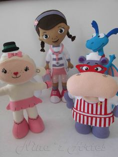 My Style, Disney, How To Make, Crafts, Character, Felt Puppets, 3 Years, Diy, Dolls