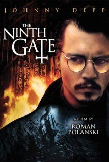 The Ninth Gate -- weird ending...I think I am going to have to read the book this one is based on so I can figure out what the heck happened!!