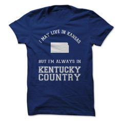 Kansas Kentucky Country T Shirts, Hoodie. Shopping Online Now ==► https://www.sunfrog.com/LifeStyle/Kansas-Kentucky-Country.html?41382